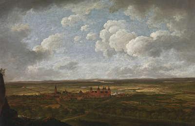 Blick auf Aschaffenburg von Osten (Aschaffenburger Zyklus)