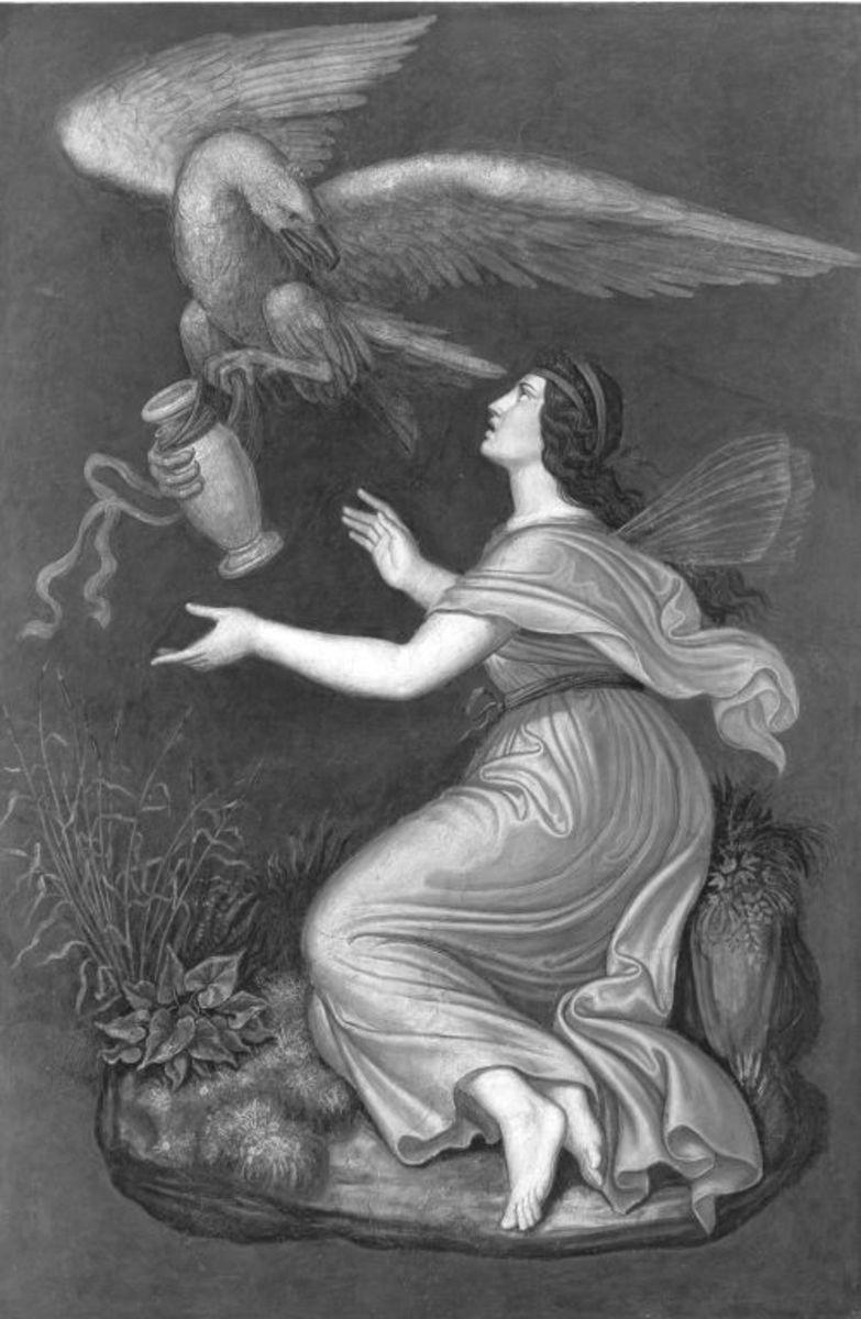 Das Märchen von Amor und Psyche: Psyche und Jupiters Adler