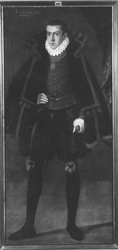Bildnis des Pfalzgrafen Friedrich von Zweibrücken-Veldenz-Parkstein im Alter von 18 Jahren