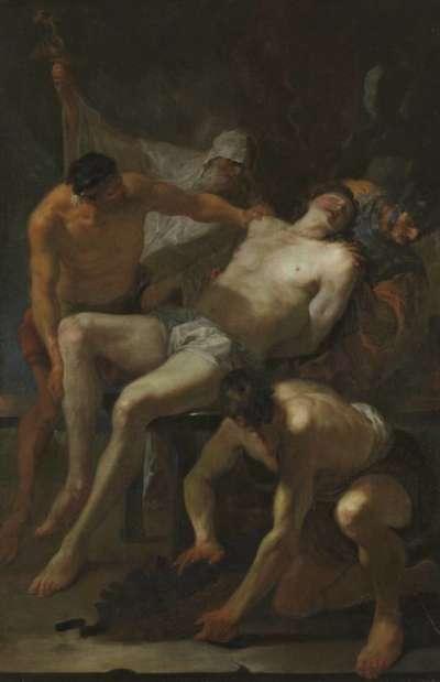 Martyrium des hl. Laurentius