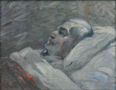 Der Vater auf dem Krankenbett I