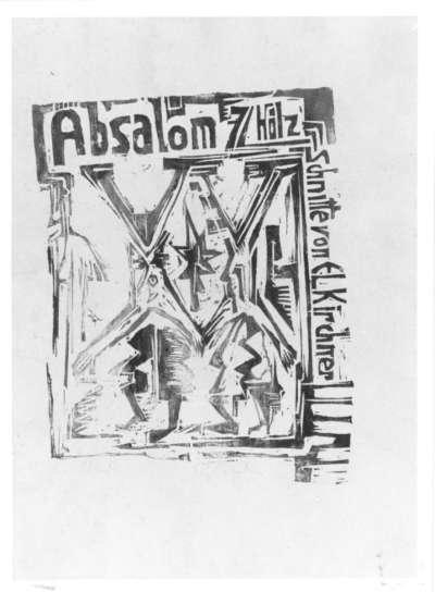 Absalom: Titelblatt