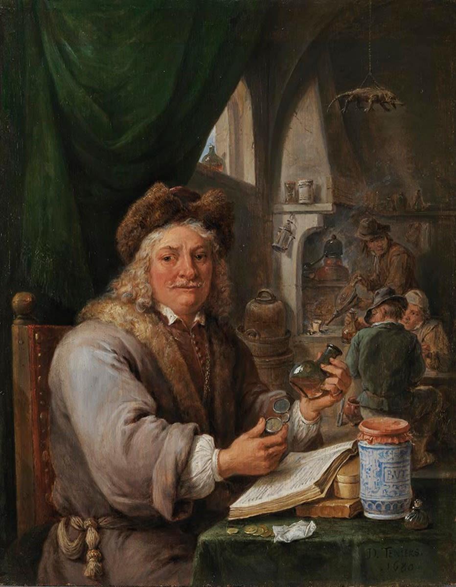 Ein Alchimist