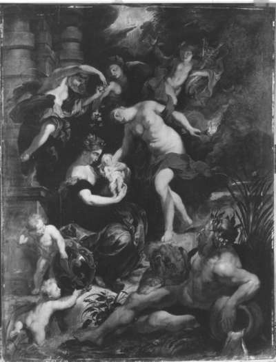 Geburt der Maria de' Medici (Kopie nach dem Medici-Zyklus)