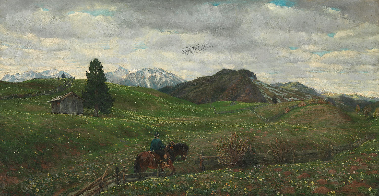 Bayerische Vorgebirgslandschaft