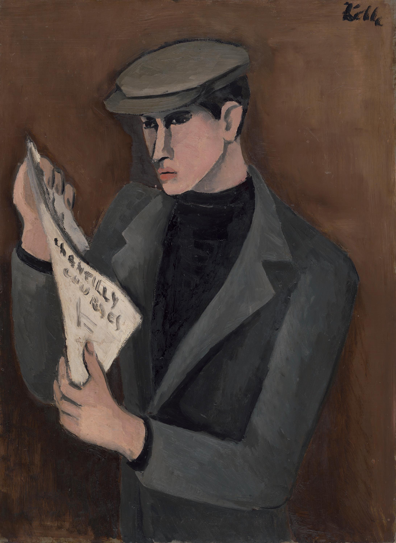 Der Zeitungsleser - Chantilly Courses