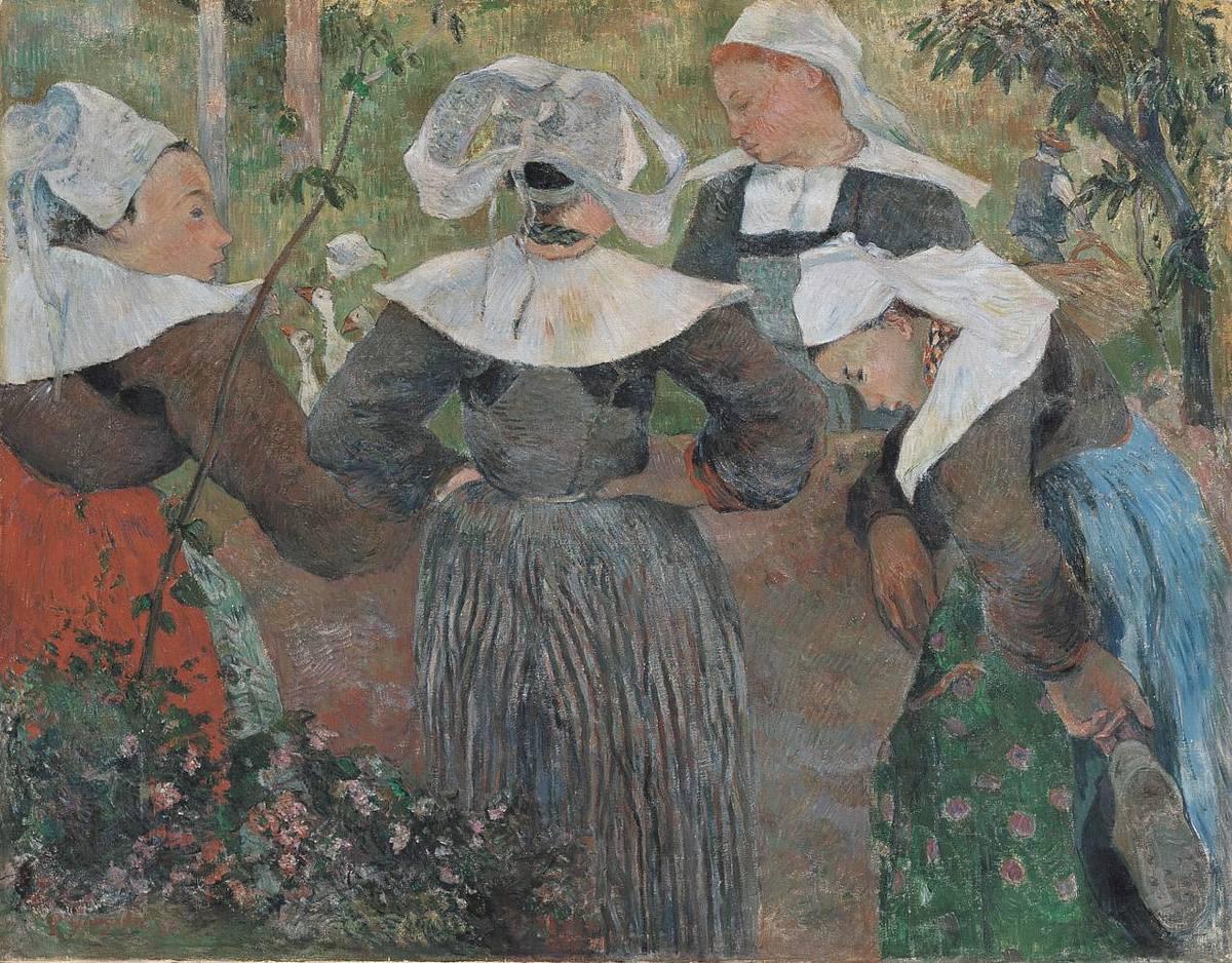 Bretonische Bäuerinnen
