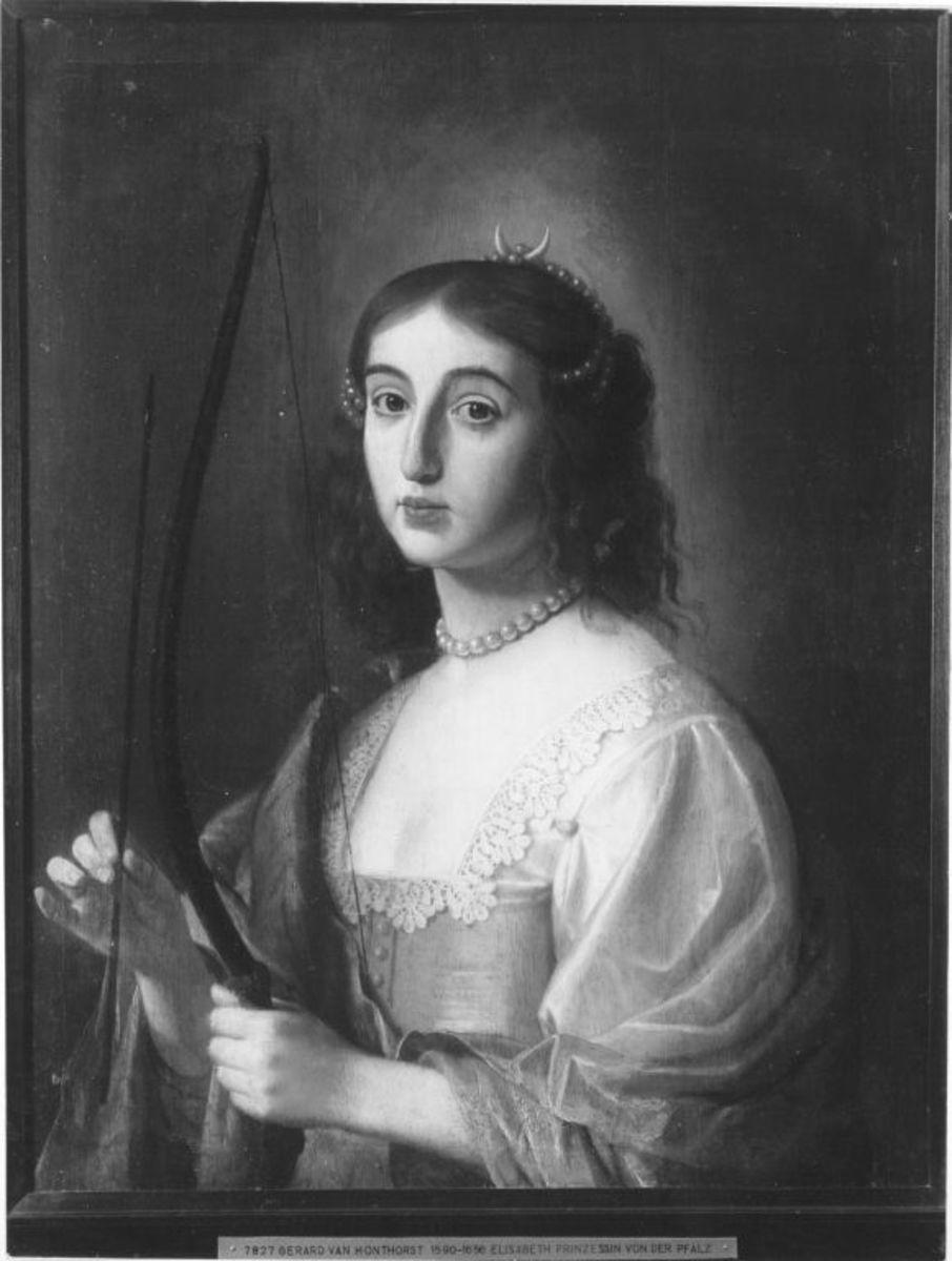 Bildnis der Prinzessin Elisabeth von der Pfalz als Diana (1618-1680)