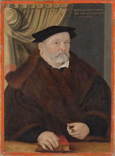 Bildnis des Bartholomäus Schowinger