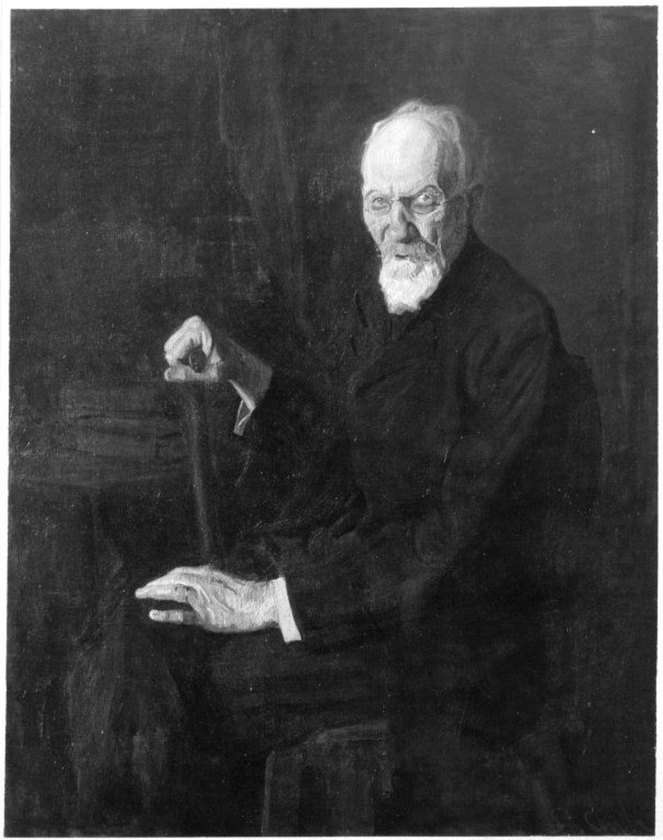 Bildnis eines alten Mannes