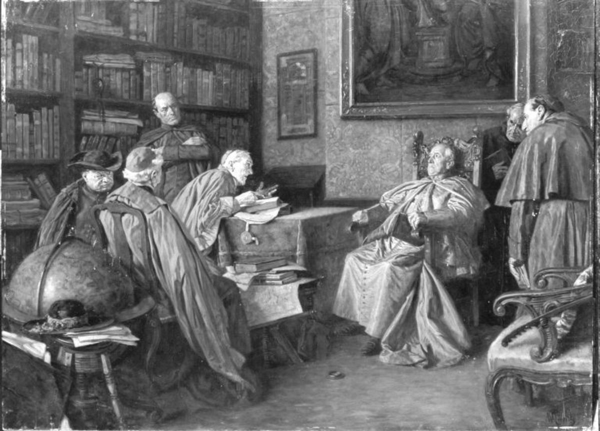 Konferenz beim Kardinal