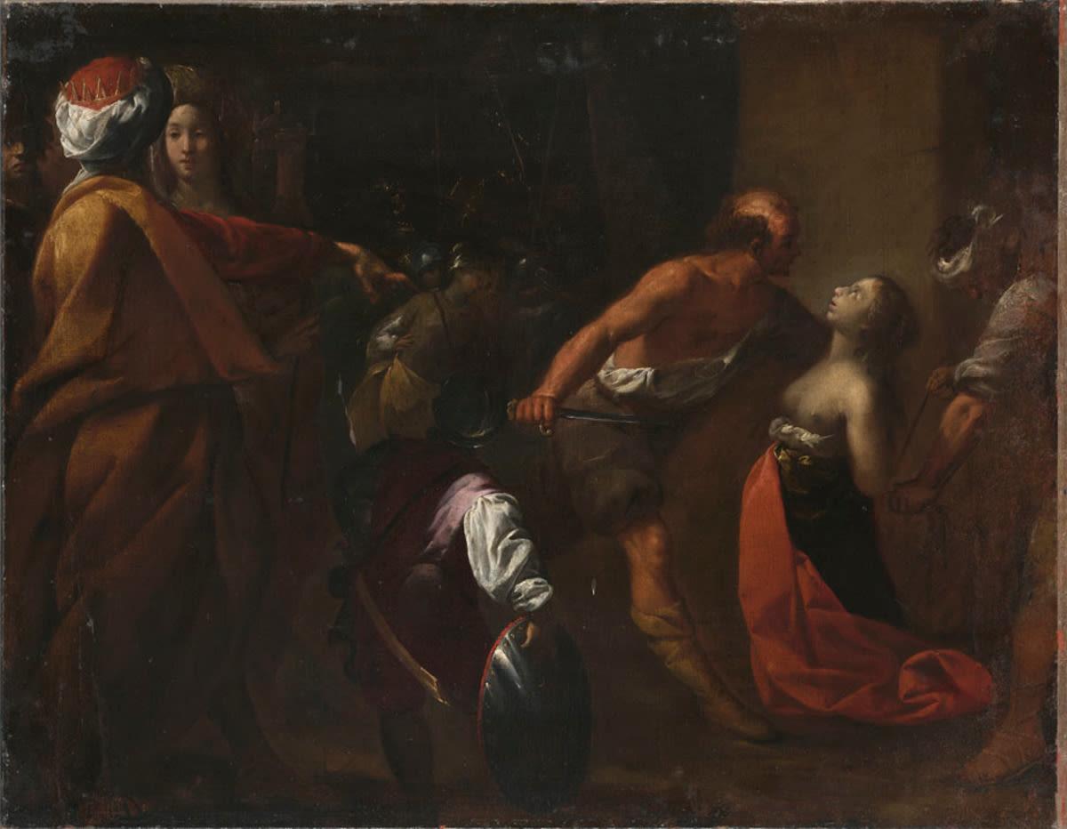 Martyrium der hl. Justina