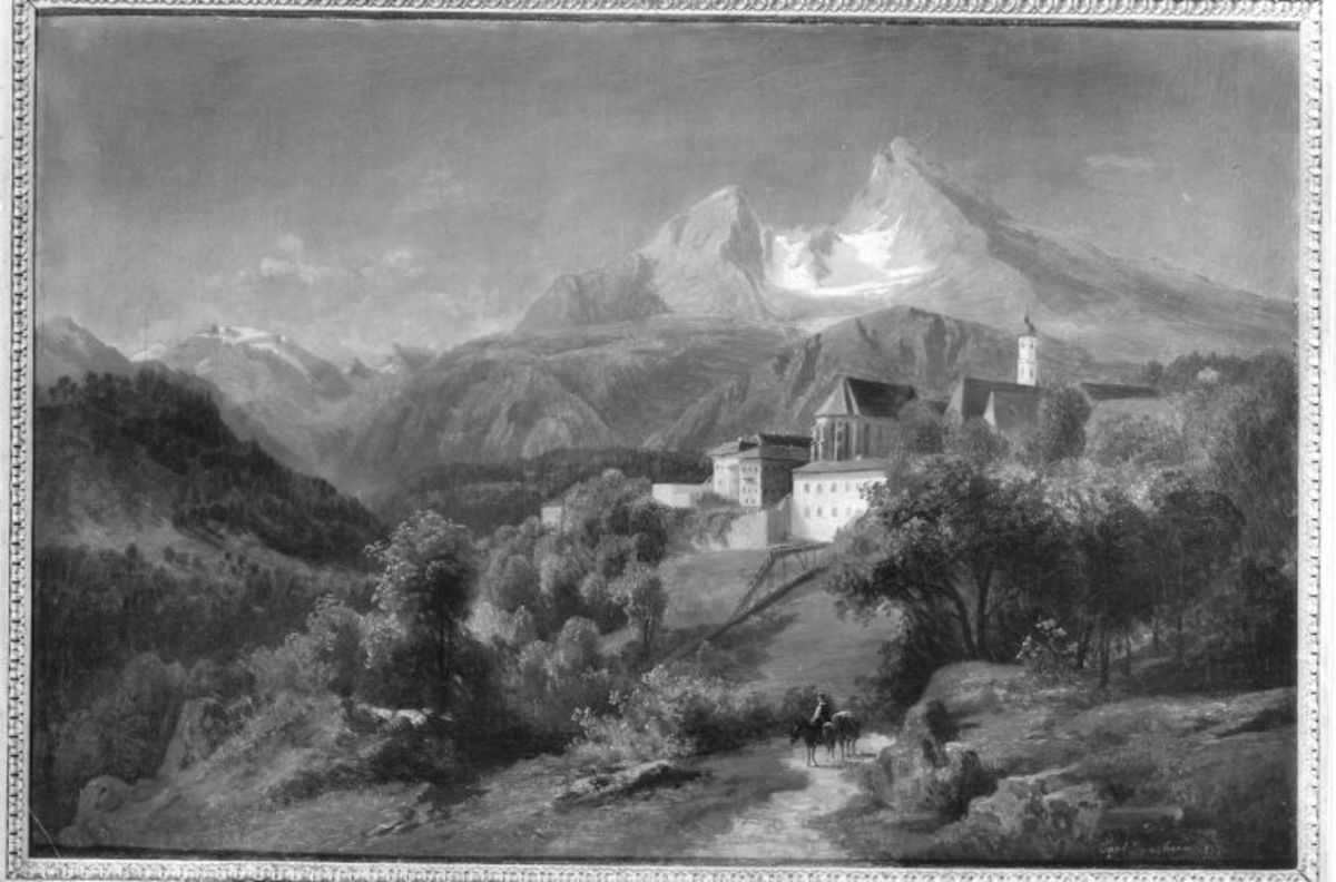 Berchtesgaden mit dem Watzmann