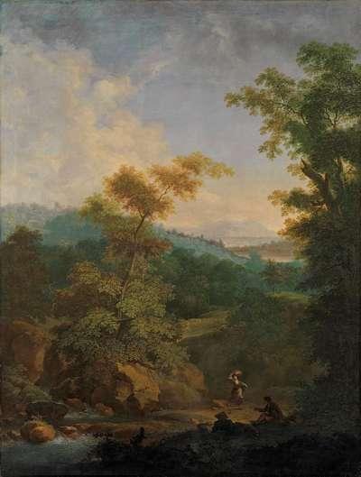 Waldige Hügellandschaft
