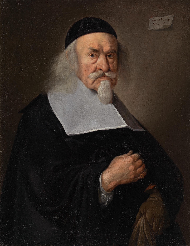 Bildnis eines Mannes im Alter von 81 Jahren
