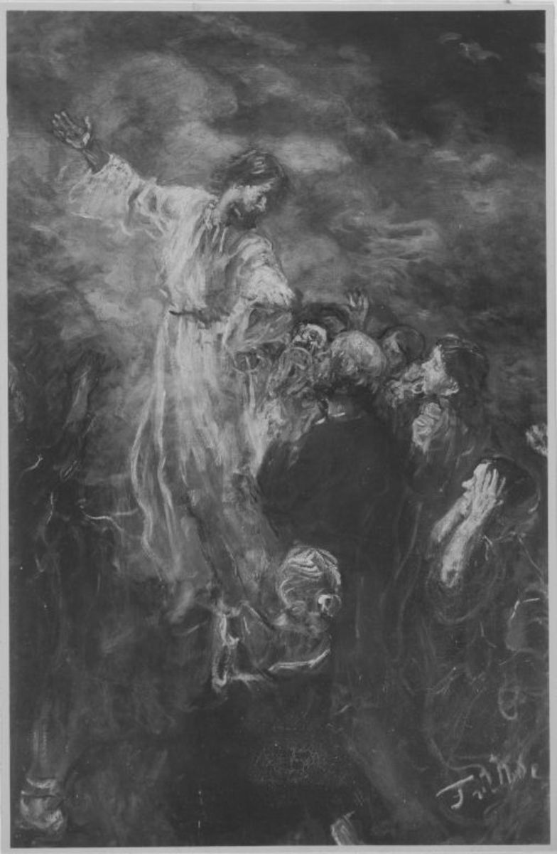 Himmelfahrt Christi (Skizze)
