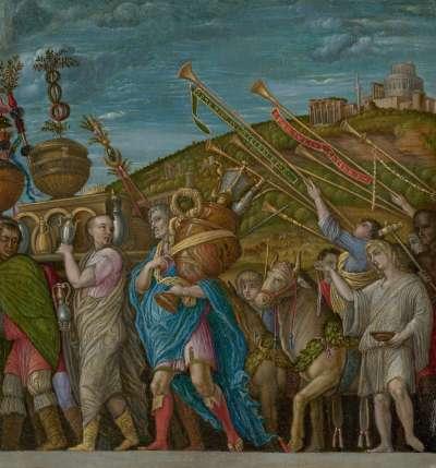 Cäsars Triumphzug II  (Kopie nach Mantegna)