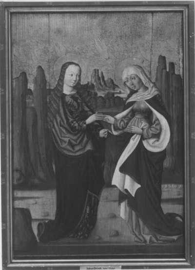 Marienaltar: Die Heimsuchung Mariä