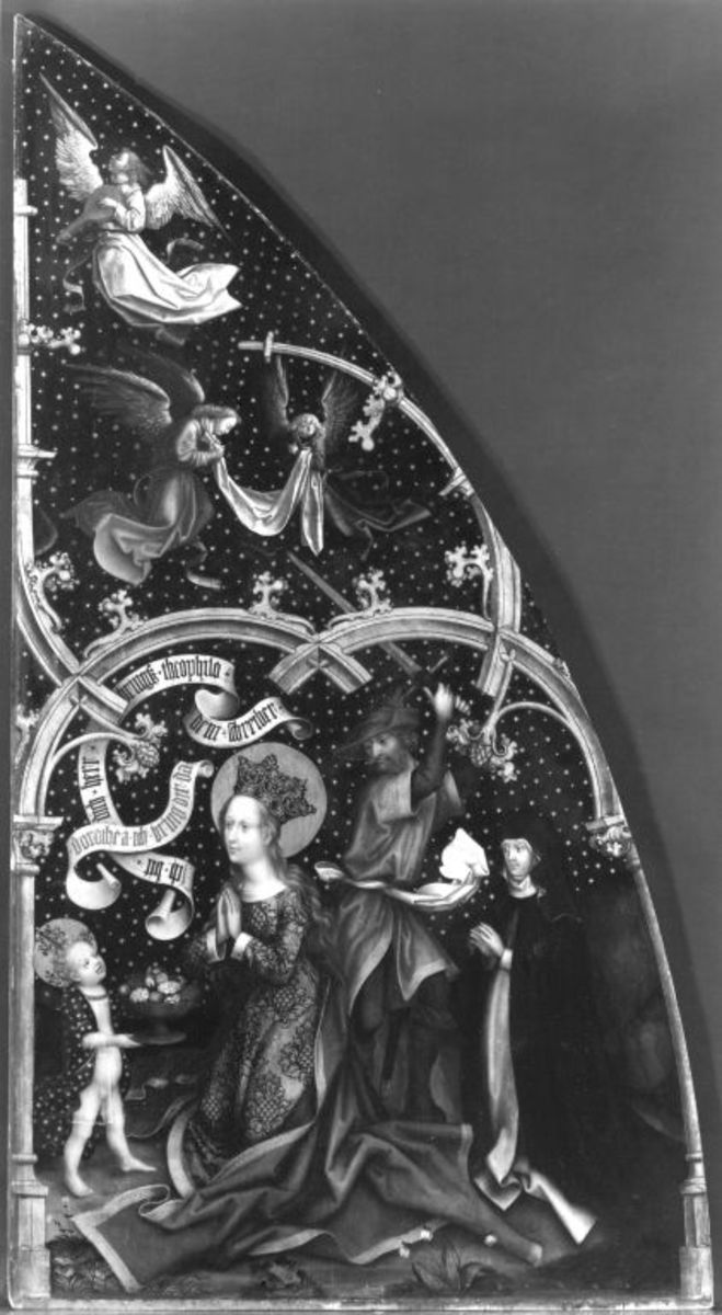 Basilika Santa Maria Maggiore, rechter Tafel: Enthauptung der hl. Dorothea