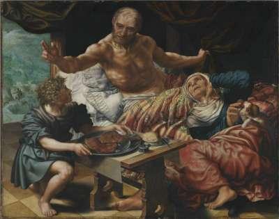 Isaak segnet Jakob
