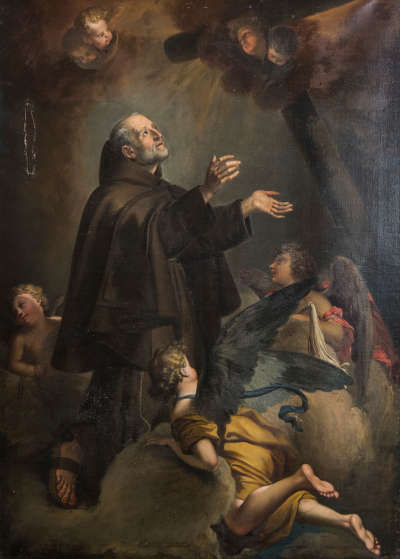 Vision des hl. Petrus von Alcantara
