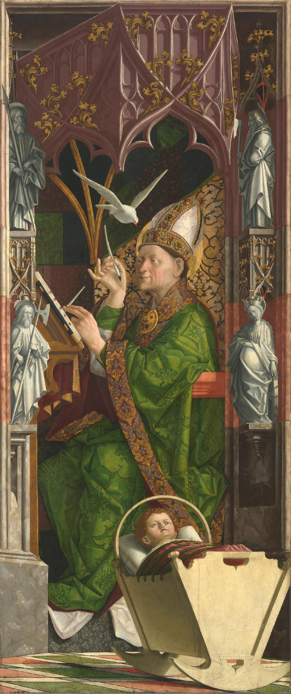 Kirchenväteraltar: Hl. Ambrosius
