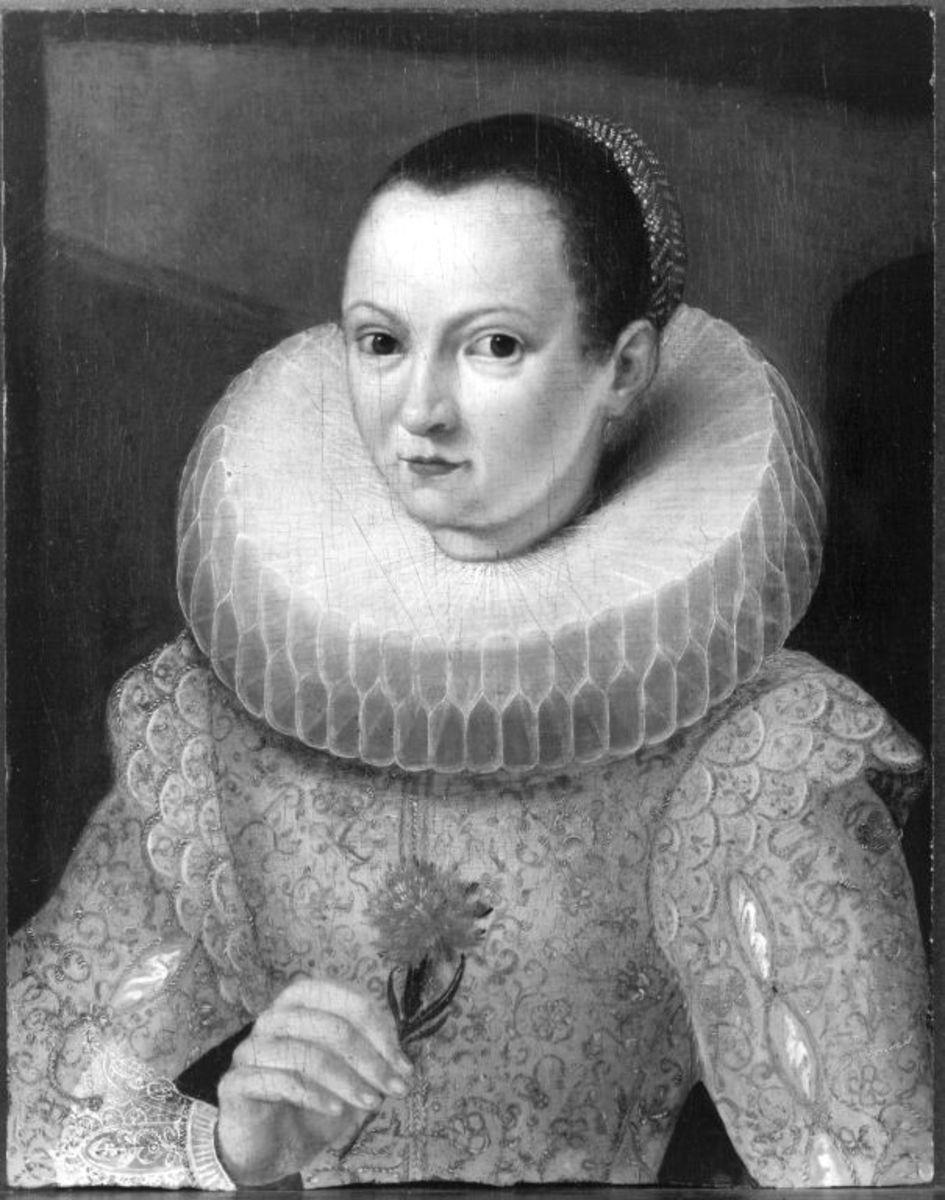 Bildnis einer Dame mit Nelke