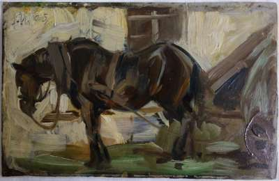 Kleine Pferdestudie II
