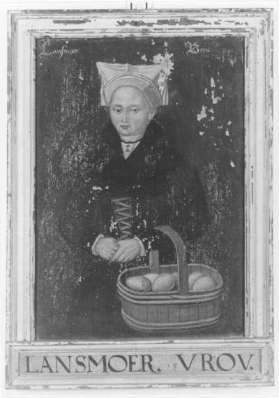 Kostümbild Lansmoer Vrou