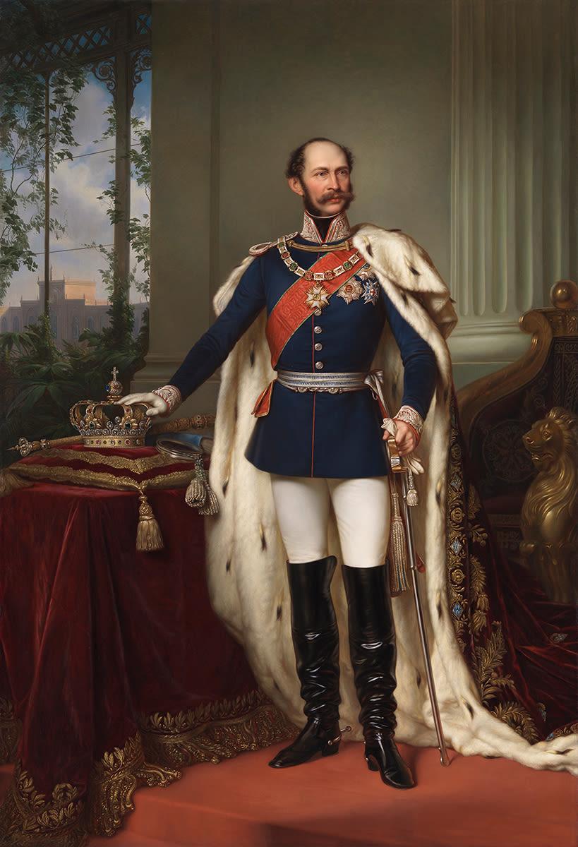 König Maximilian II. von Bayern (nach Joseph Bernhardt)