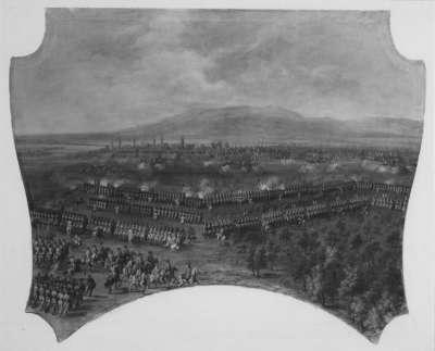 Der Rückzug der Armee bei Essegk 1687