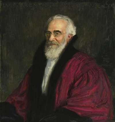 Professor Lujo Brentano