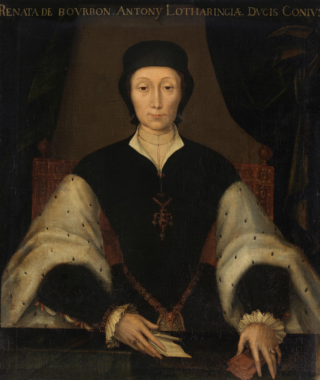 Renée von Bourbon-Montpensier, Gemahlin Antons des Guten von Lothringen