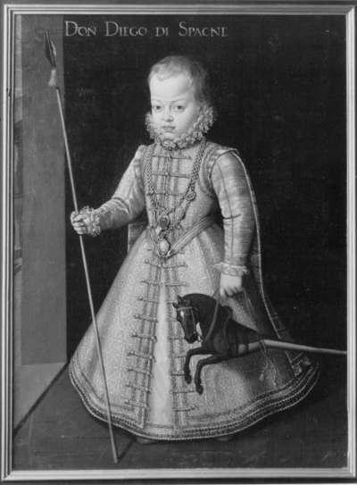 Infant Diego von Spanien als Kind