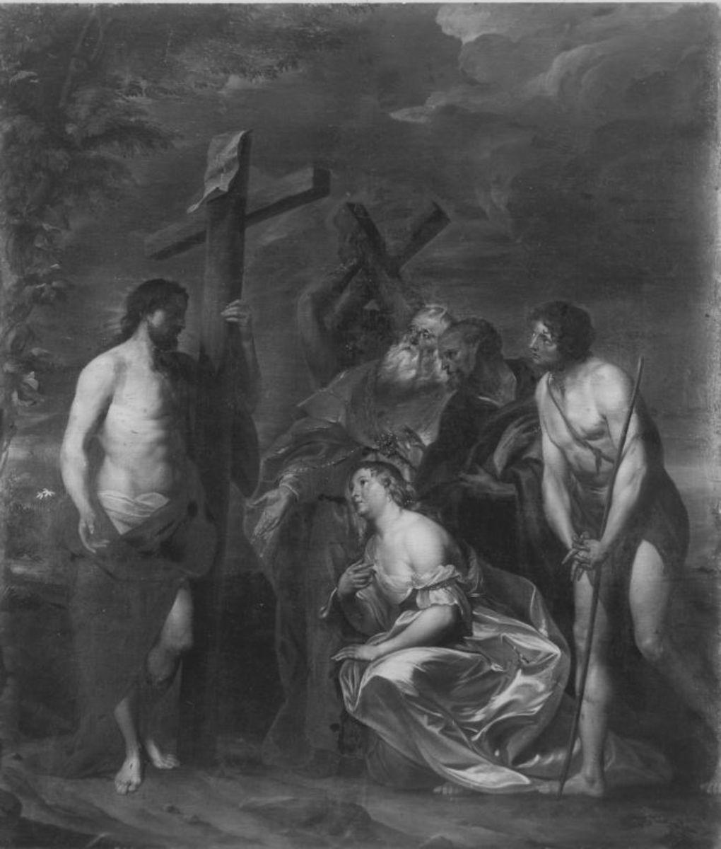 Christus und die büßende Magdalena