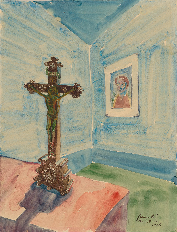 Crucifix im Raum (Kreuz im Raum)