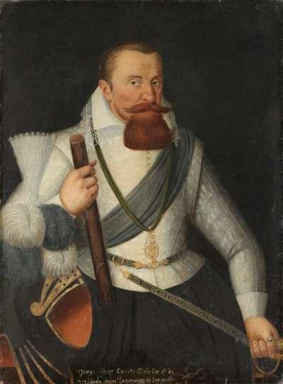 Bildnis des Georg Johann I., Pfalzgrafen von Veldenz (1543-1592)