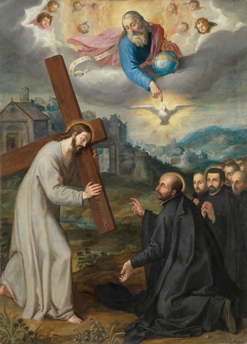 Vision des hl. Ignatius von Loyola bei La Storta