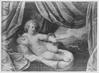 Herkules als Kind