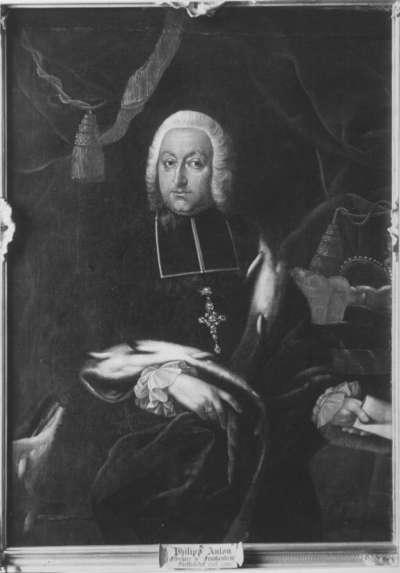 Bildnis des Johann Philipp Anton von Frankenstein, Fürstbischof von Bamberg (1695-1753)