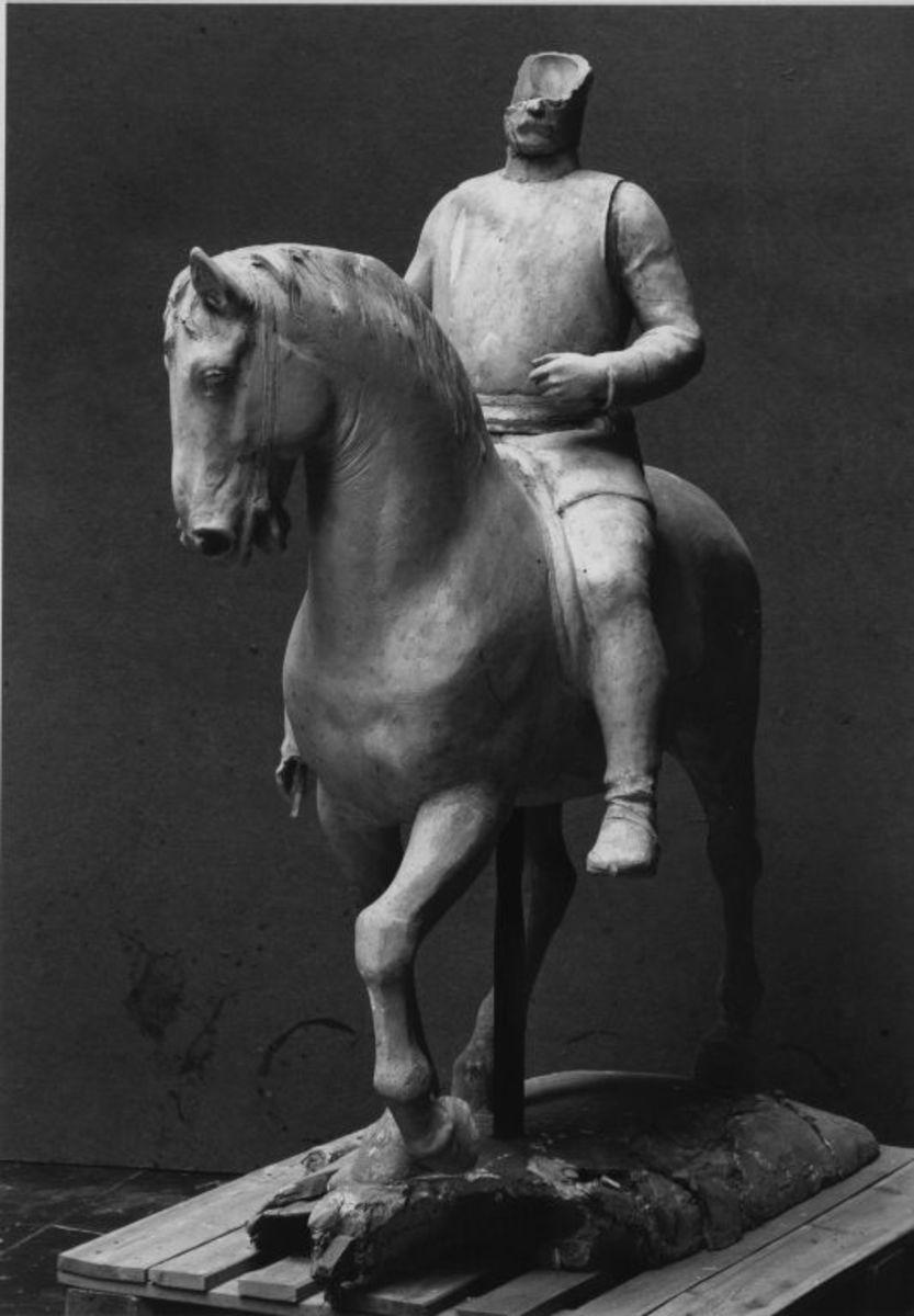 Modell für das Reiterstandbild von Otto von Bismarck