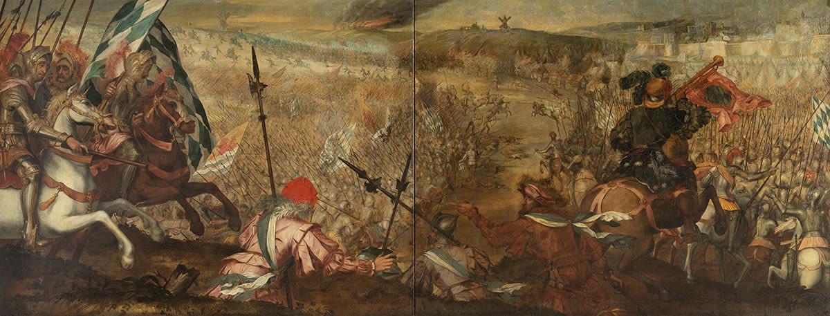 Herzog Johann III. von Niederbayern-Holland-Straubing gewinnt 1408 das Bistum Lüttich durch den Entsatz von Maastricht zurück
