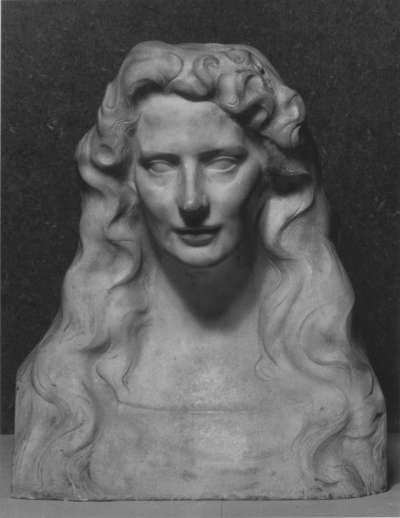 Büste einer jungen Frau