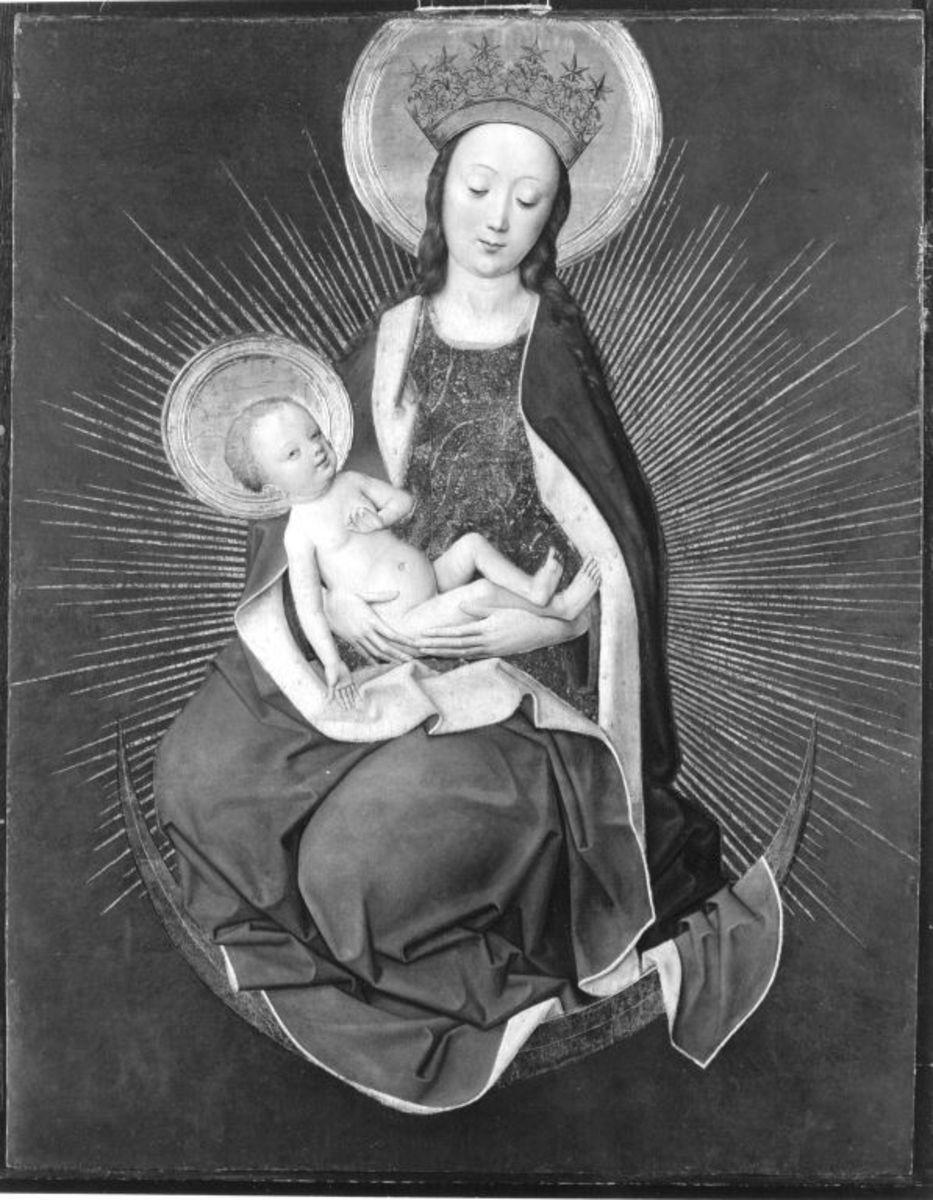 Maria auf der Mondsichel