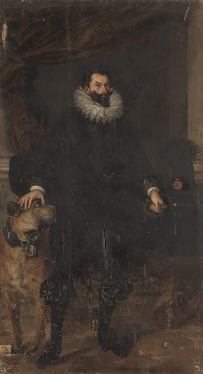 """Bildnis des Herzogs Albrecht VI. von Bayern, der """"Leuchtenberger"""" (1584-1666)"""