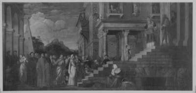 Der Tempelgang Mariens (nach Tizian)
