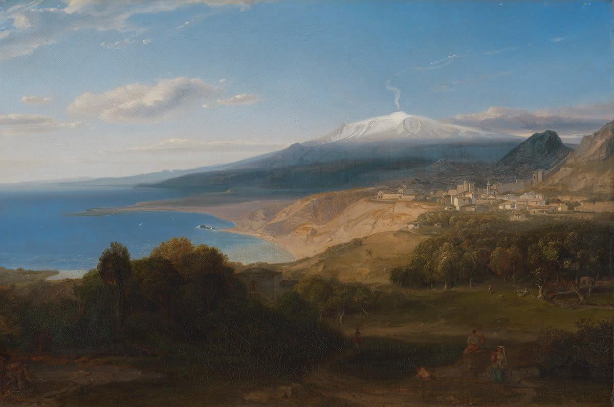 Taormina mit dem Ätna
