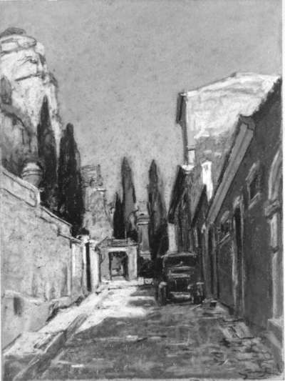 Taormina Straßenbild