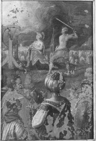 Enthauptung der hl. Katharina