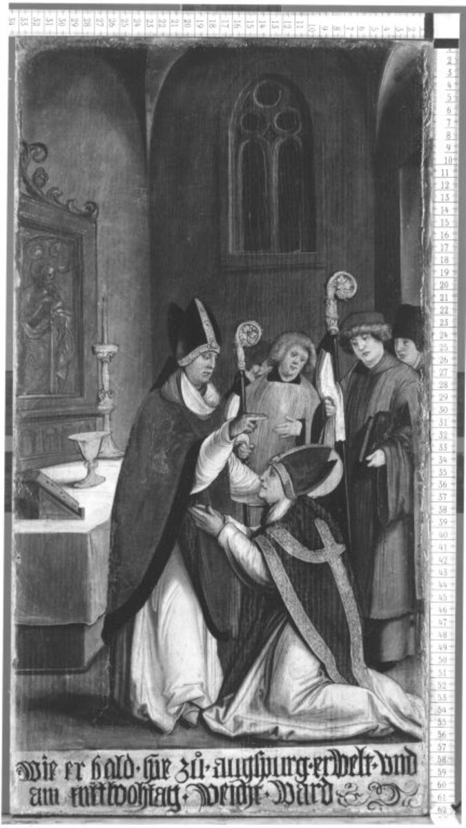 Der hl. Ulrich wird zum Bischof geweiht